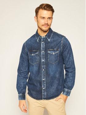 Calvin Klein Jeans Calvin Klein Jeans Koszula J30J316003 Granatowy Regular Fit