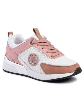 Guess Guess Sneakersy Marlyn 4 FL5MR5 FAB12 Růžová