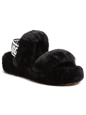 Ugg Ugg Pantofole W Oh Yeah 1107953 Nero