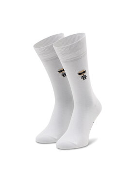 KARL LAGERFELD KARL LAGERFELD Vysoké pánske ponožky 805504 511102 Biela