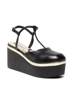 Carinii Carinii Sandále B7414 Čierna