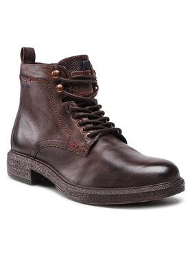 Wrangler Wrangler Kotníková obuv Custom WM12080A Hnědá