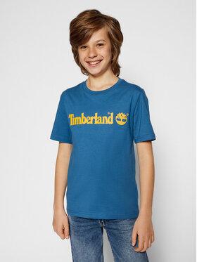 Timberland Timberland Marškinėliai T25S28 S Tamsiai mėlyna Regular Fit