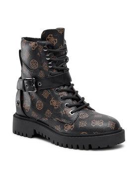 Guess Guess Čizme FL8ON3 FAL10 Smeđa