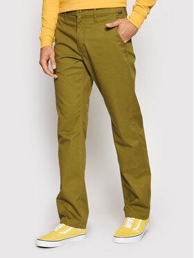 Vans Vans Чино панталони Authentic VN0A5FJ8 Зелен Loose Fit
