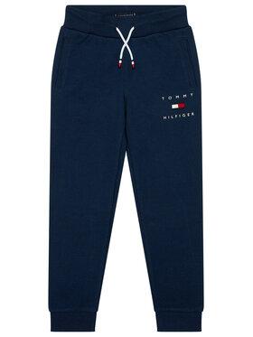 TOMMY HILFIGER TOMMY HILFIGER Pantaloni trening Logo Sweat KB0KB06168 Bleumarin Regular Fit