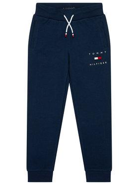 TOMMY HILFIGER TOMMY HILFIGER Teplákové nohavice Logo Sweat KB0KB06168 Tmavomodrá Regular Fit