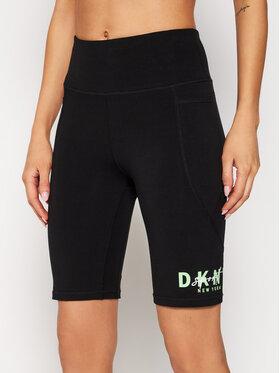 DKNY Sport DKNY Sport Szorty sportowe DP0S4799 Czarny Slim Fit