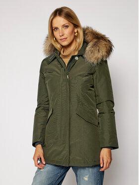 Woolrich Woolrich Geacă de iarnă Arctic Parka CFWWOU0299FRUT0001 Verde Slim Fit