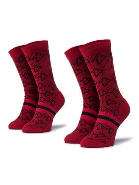 NIKE NIKE Σετ 2 ζευγάρια ψηλές κάλτσες unisex CU0037 687 Κόκκινο