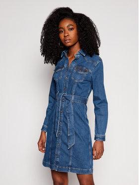 Pepe Jeans Pepe Jeans Sukienka jeansowa Julie Blue PL952800 Niebieski Slim Fit