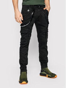 Alpha Industries Alpha Industries Текстилни панталони Utility 128202 Черен Slim Fit