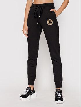 Versace Jeans Couture Versace Jeans Couture Pantaloni trening V-Emblem Foill 71HAAT03 Negru Regular Fit