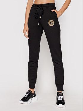 Versace Jeans Couture Versace Jeans Couture Spodnie dresowe V-Emblem Foill 71HAAT03 Czarny Regular Fit