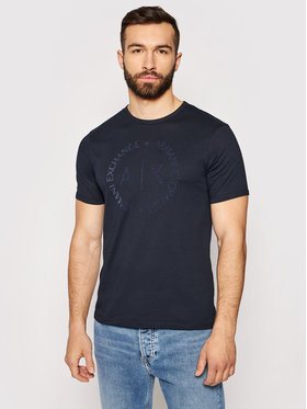 Armani Exchange Armani Exchange T-shirt 8NZTCD Z8H4Z 1510 Bleu marine Regular Fit