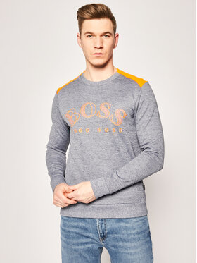 Boss Boss Sweatshirt Salbo 50418718 Grau Regular Fit