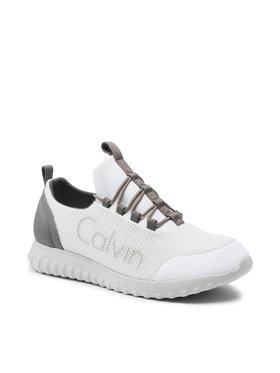 Calvin Klein Jeans Calvin Klein Jeans Сникърси Runner Sneaker Laceup Mesh YM0YM00085 Бял