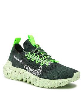 Nike Nike Buty Space Hippie 01 DJ3056 300 Zielony