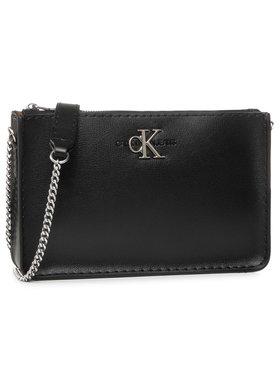 Calvin Klein Jeans Calvin Klein Jeans Handtasche Ew Crossbody W/Chain K60K606849 Schwarz
