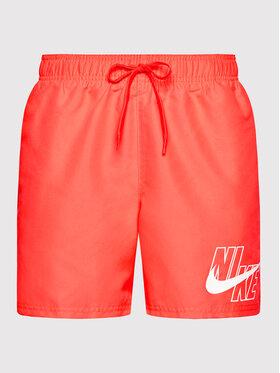 Nike Nike Plavecké šortky Logo Lap 5 NESSA566 Červená Standard Fit