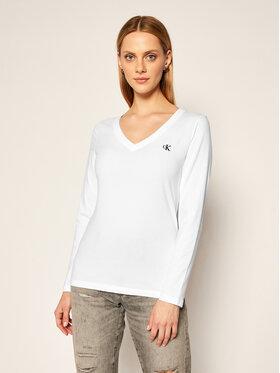 Calvin Klein Jeans Calvin Klein Jeans Μπλουζάκι Essentials J20J214936 Λευκό Regular Fit