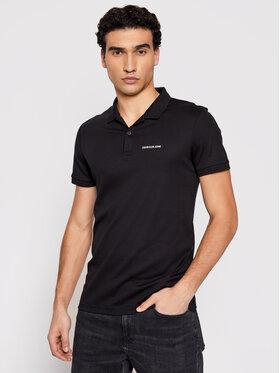 Calvin Klein Jeans Calvin Klein Jeans Pólóing J30J317439 Fekete Slim Fit