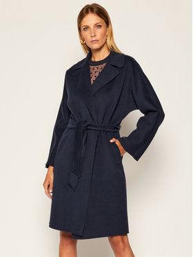 Weekend Max Mara Weekend Max Mara Преходно палто Tanga 50160609 Тъмносин Regular Fit