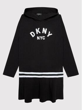 DKNY DKNY Každodenné šaty D32804 D Čierna Regular Fit