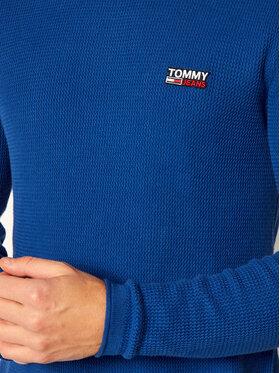 Tommy Jeans Tommy Jeans Svetr DM0DM09468 Modrá Regular Fit