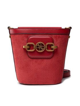 Guess Guess Дамска чанта Hensely HWXB81 13010 Червен