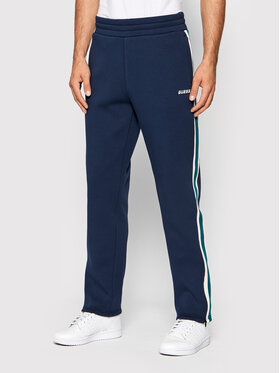 Guess Guess Παντελόνι φόρμας U1BA27 FL046 Σκούρο μπλε Regular Fit