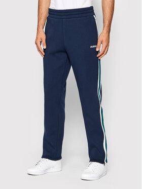 Guess Guess Spodnie dresowe U1BA27 FL046 Granatowy Regular Fit