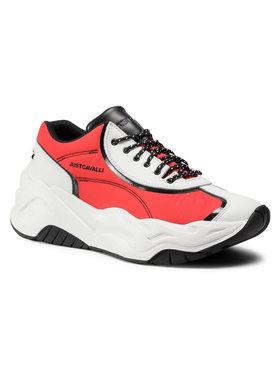 Just Cavalli Just Cavalli Sneakersy S08WS0160 Biały