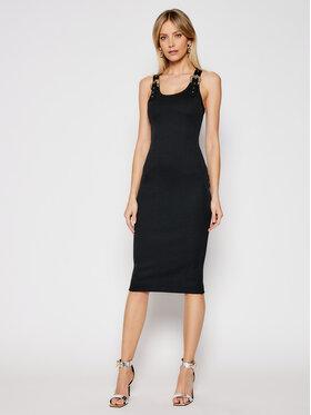 Versace Jeans Couture Versace Jeans Couture Každodenné šaty D2HWA439 Čierna Slim Fit