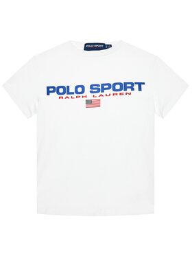 Polo Ralph Lauren Polo Ralph Lauren Marškinėliai Ss Cn 323837629002 Balta Regular Fit