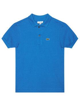 Lacoste Lacoste Тениска с яка и копчета PJ2909 Син Regular Fit