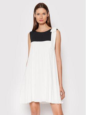 Rinascimento Rinascimento Sukienka koktajlowa CFC0105068003 Biały Regular Fit