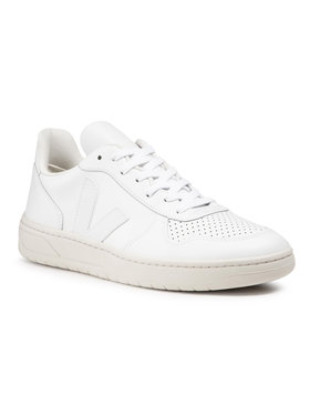 Veja Veja Sneakers V-10 Leather VX021270 Blanc