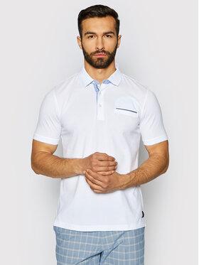 Pierre Cardin Pierre Cardin Polo 52084/000/11255 Blanc Modern Fit