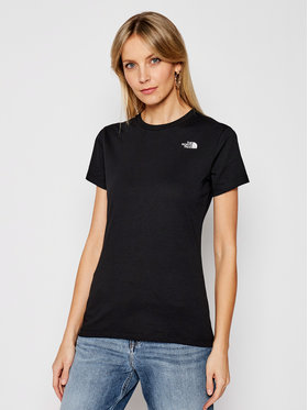 The North Face The North Face T-shirt Simple Dome NF0A4T1AJK31 Crna Regular Fit