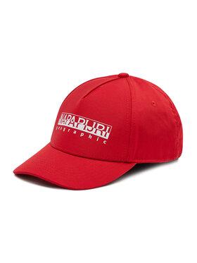 Napapijri Napapijri Kepurė su snapeliu Framing 2 NP0A4EZY Raudona