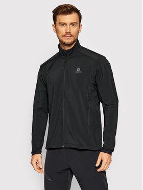 Salomon Salomon Softshellová bunda Agile LC1370600 Čierna Active Fit