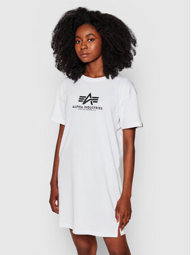 Alpha Industries Alpha Industries Повсякденна сукня Basic 116055 Білий Regular Fit