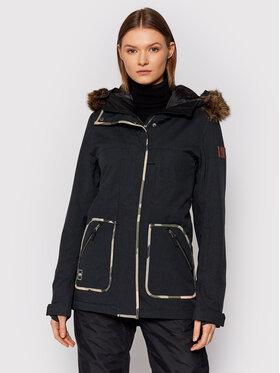 Billabong Billabong Snowboardová bunda Into The Fores U6JF25 BIF0 Černá Tailored Fit
