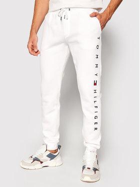Tommy Hilfiger Tommy Hilfiger Jogginghose Basic Branded MW0MW15236 Weiß Regular Fit