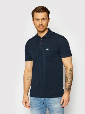 Quiksilver Quiksilver Тениска с яка и копчета Loia EQYKT04123 Тъмносин Slim Fit