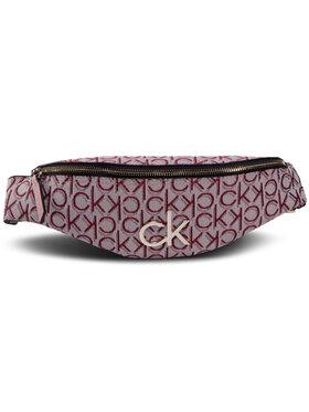 Calvin Klein Calvin Klein Saszetka nerka Re-Lock J Waistbag K60K607078 Różowy