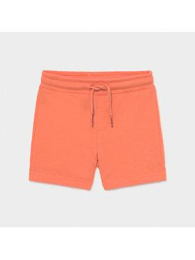 Mayoral Mayoral Sportske kratke hlače 621 Narančasta Regular Fit