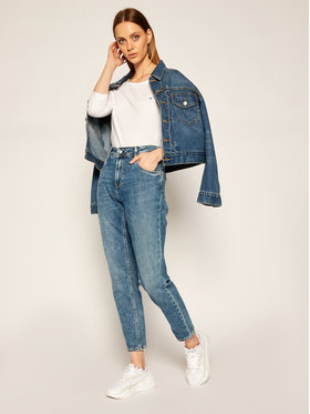 Calvin Klein Calvin Klein Halenka K20K202135 Bílá Regular Fit