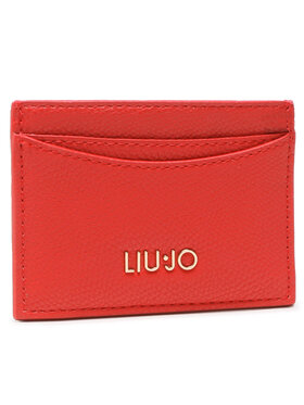 Liu Jo Liu Jo Etui na karty kredytowe Ecs Credit Card AA1208 E0017 Czerwony
